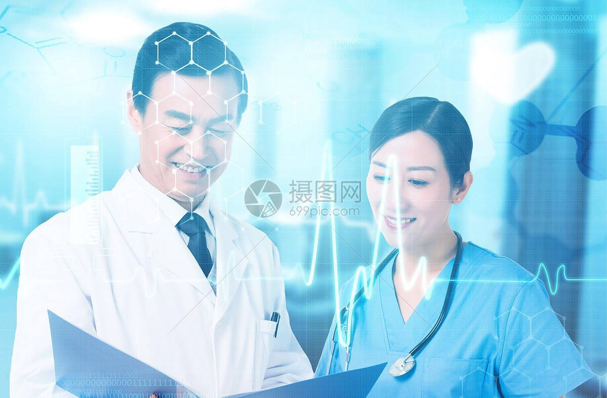 医疗研究团队协作图片