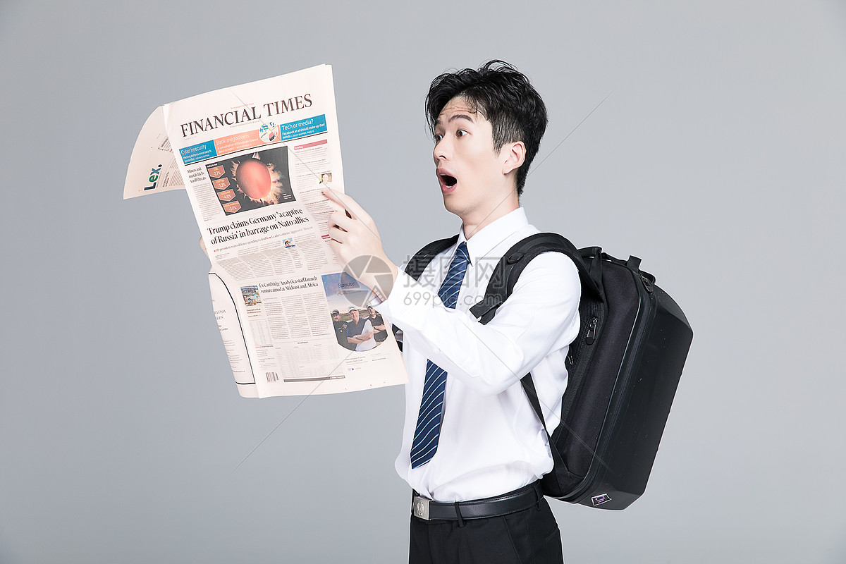 找工作的男青年图片