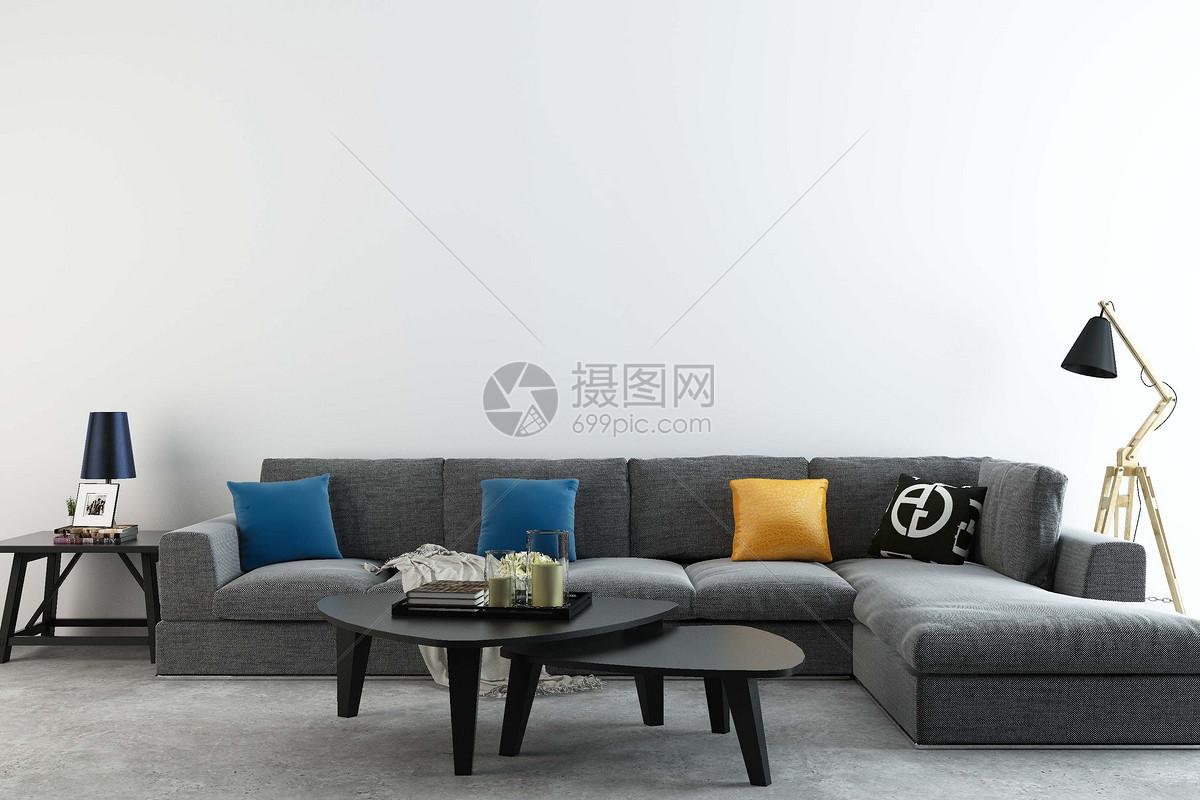 现代沙发组合图片