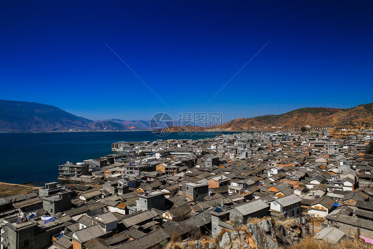 云南洱海图片