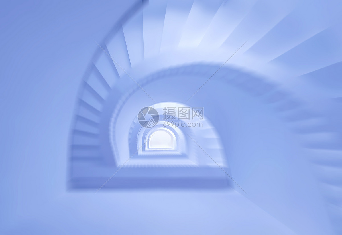 旋梯建筑艺术图片
