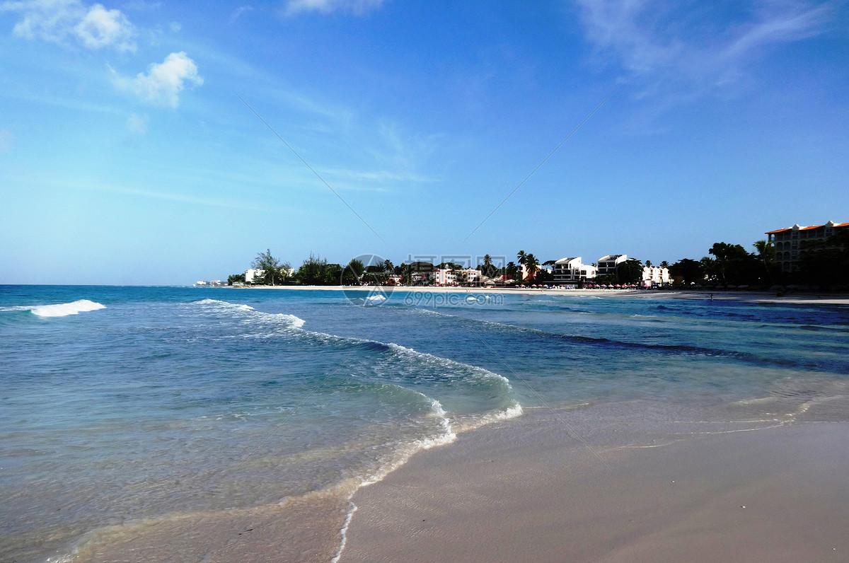 巴巴多斯是中美洲加勒比海岛国号称旅游王国图片