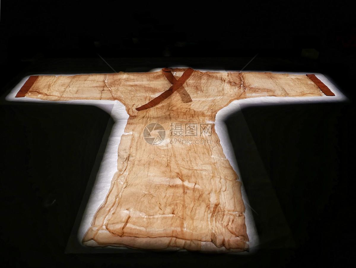 马王堆汉墓素纱襌衣图片