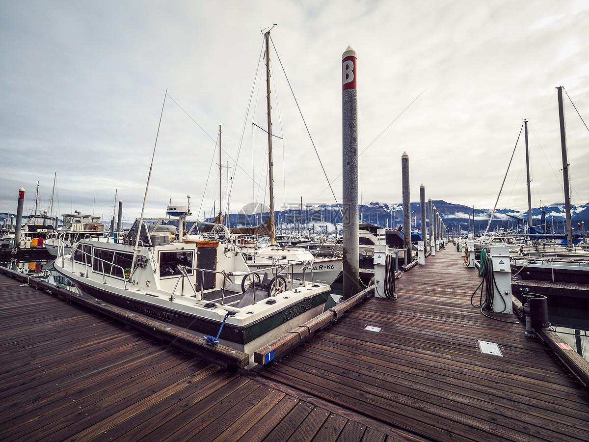 seward码头港口图片