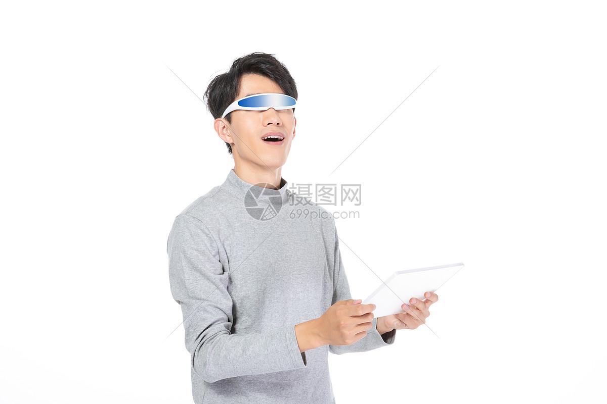 科技商务人士图片