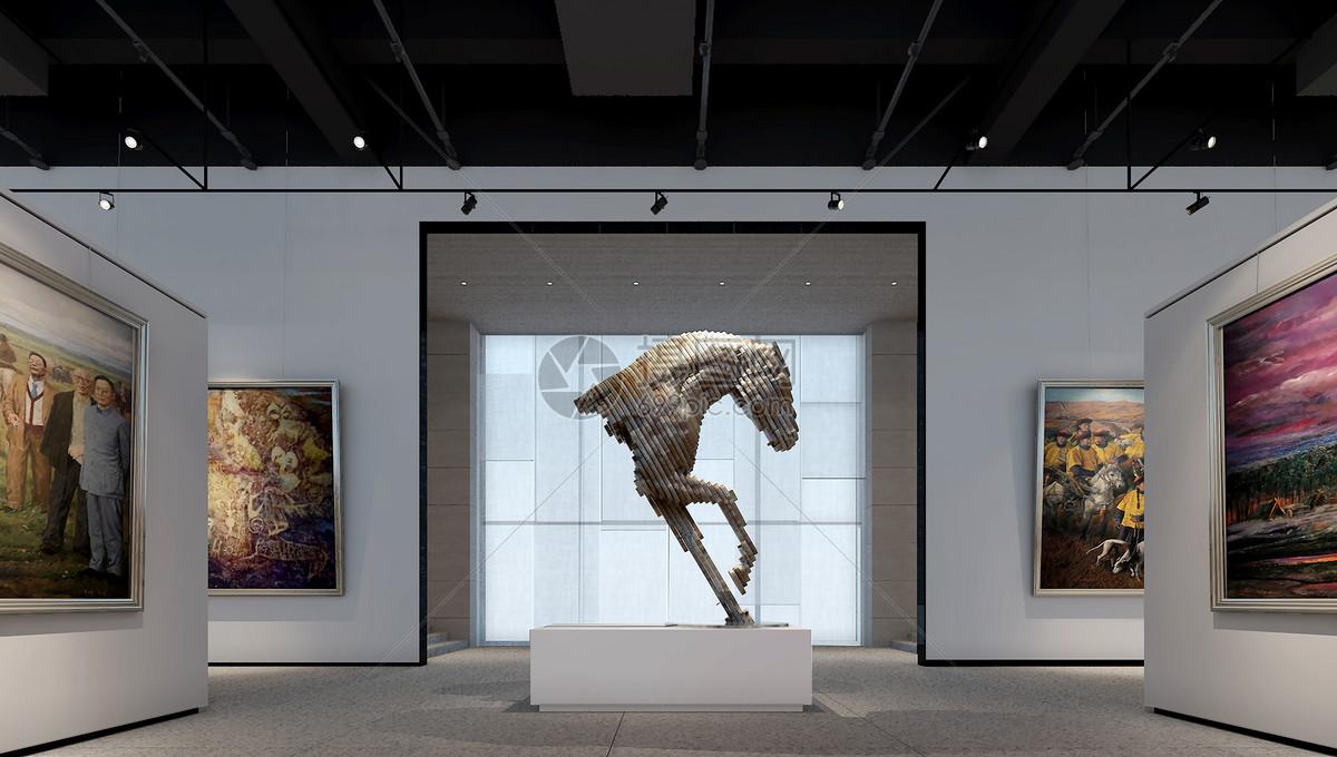 画廊博物馆设计装修效果图