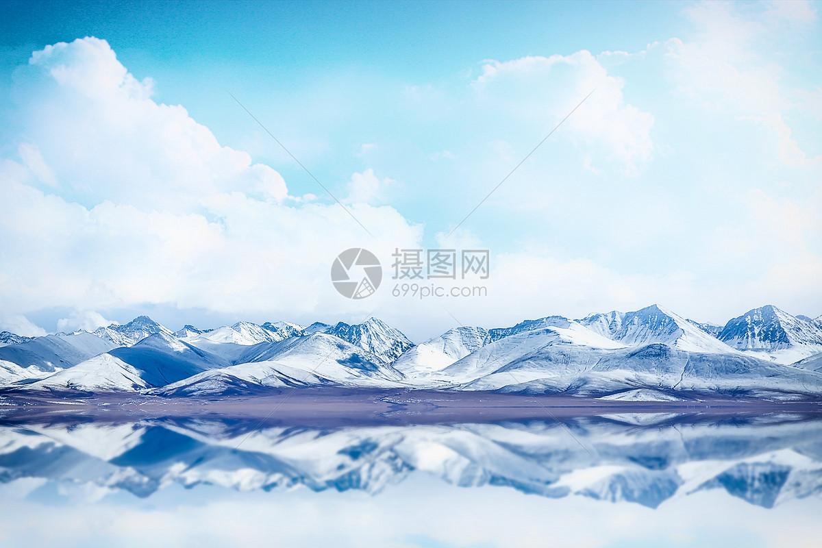 雪山山脉图片素材_免费下载_jpg图片格式_vrf高清图片