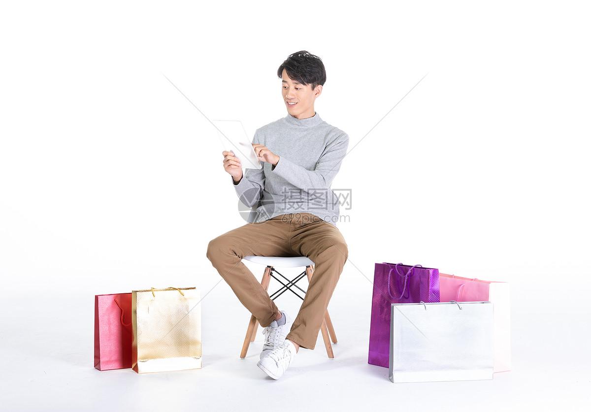 男性网上 购物图片