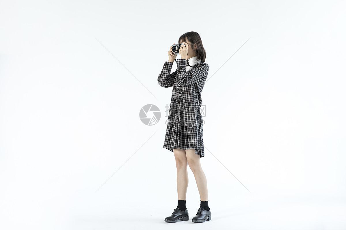 文艺女性摄影图片