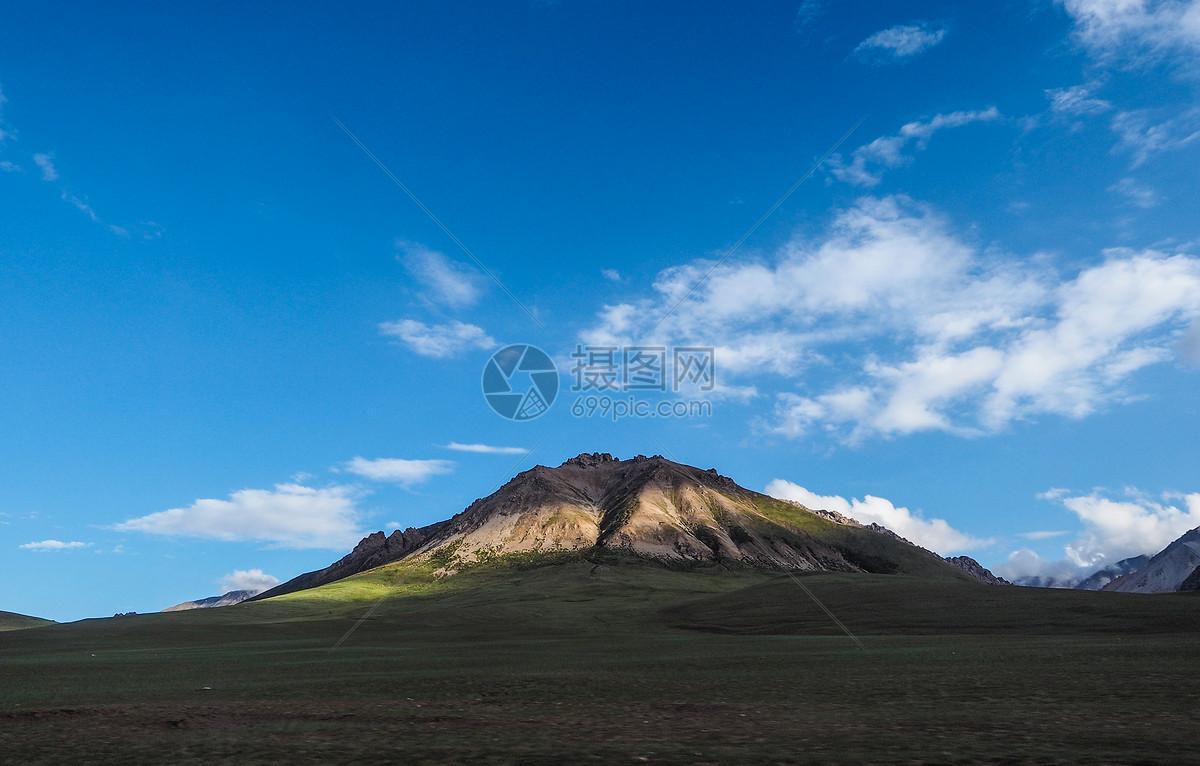 祁连山脉风光图片