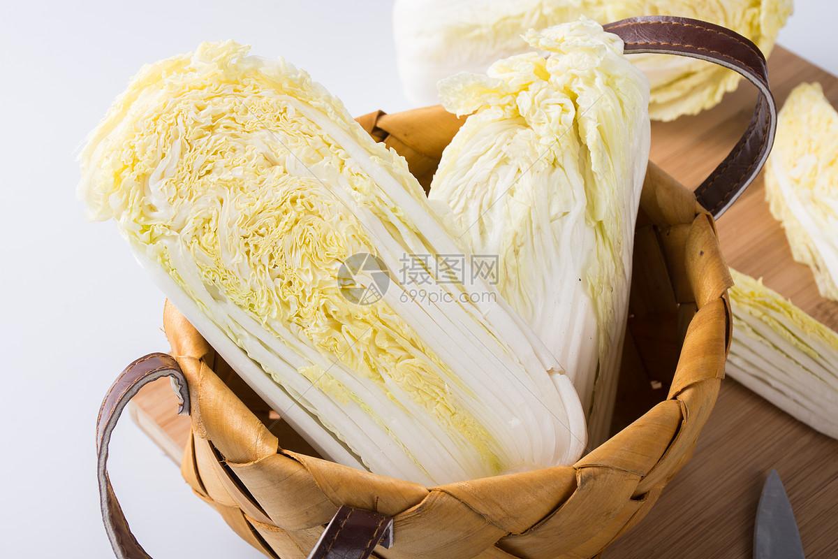 新鲜的白菜图片