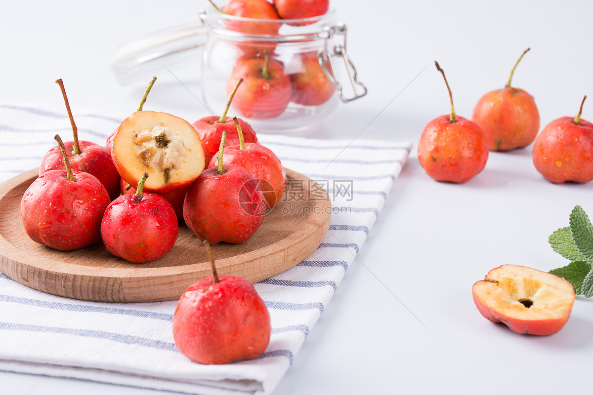 新鲜水果山楂图片