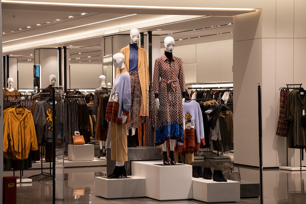 服装店铺图片