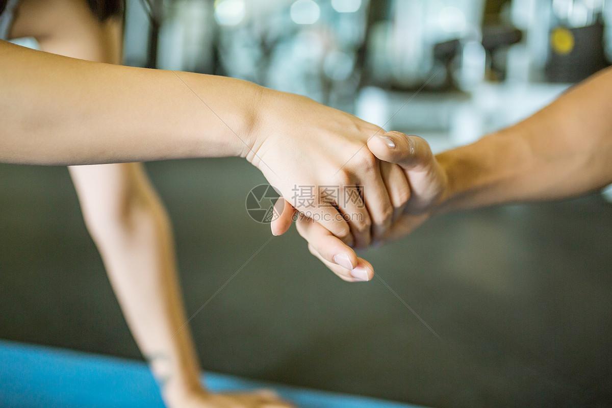 体力锻炼手部姿势图片