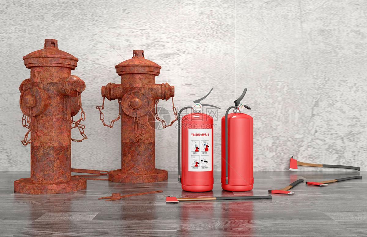 消防栓灭火器图片