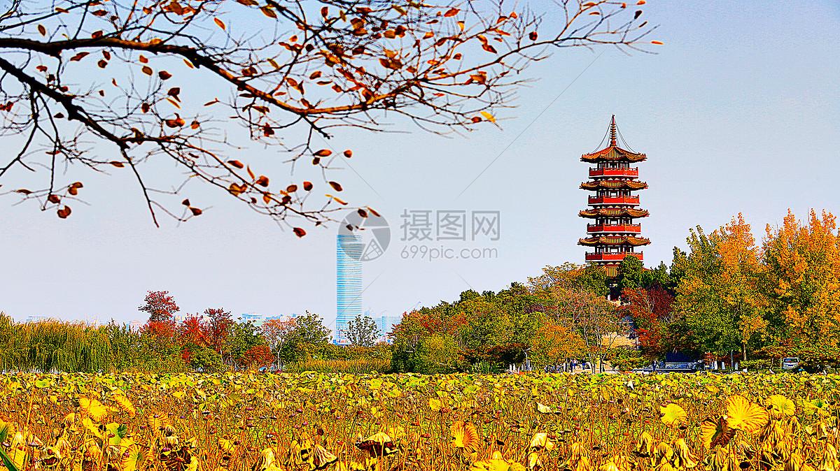 徐州小南湖云龙湖图片