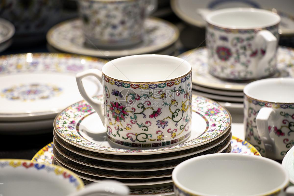 茶杯瓷器图片
