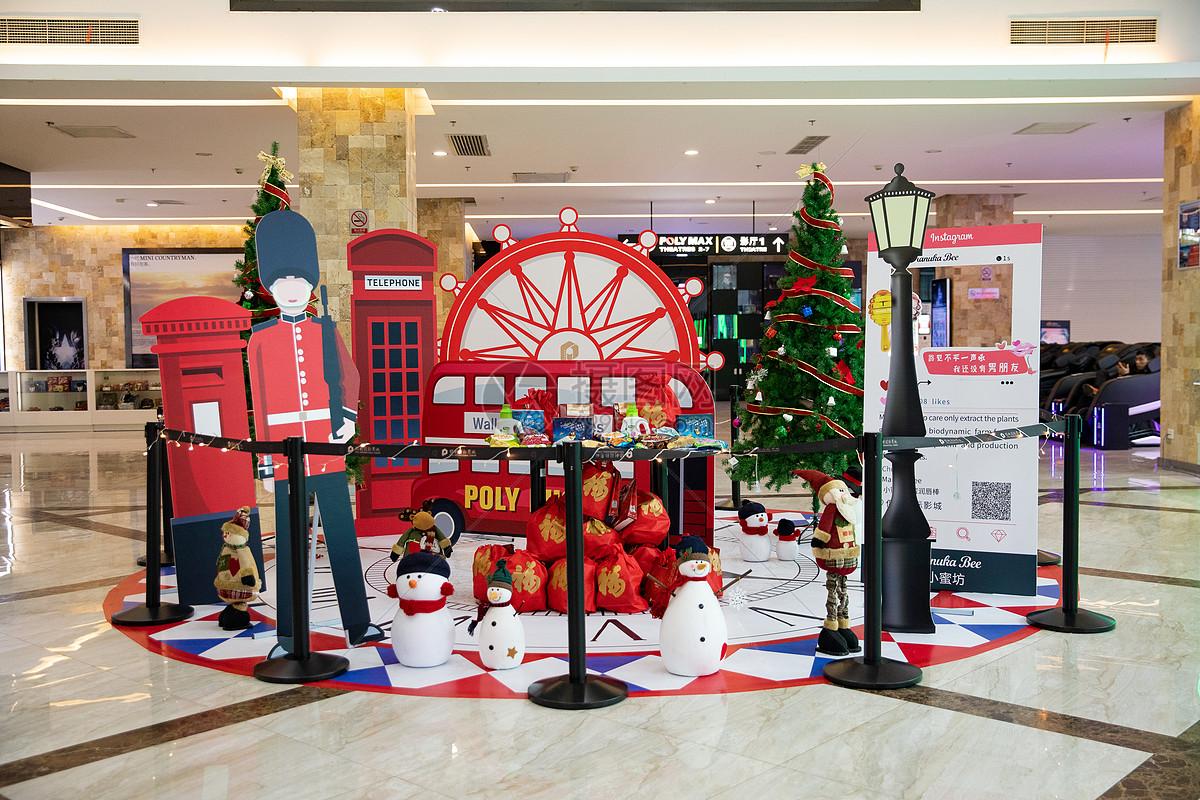 圣诞节商场装饰图片