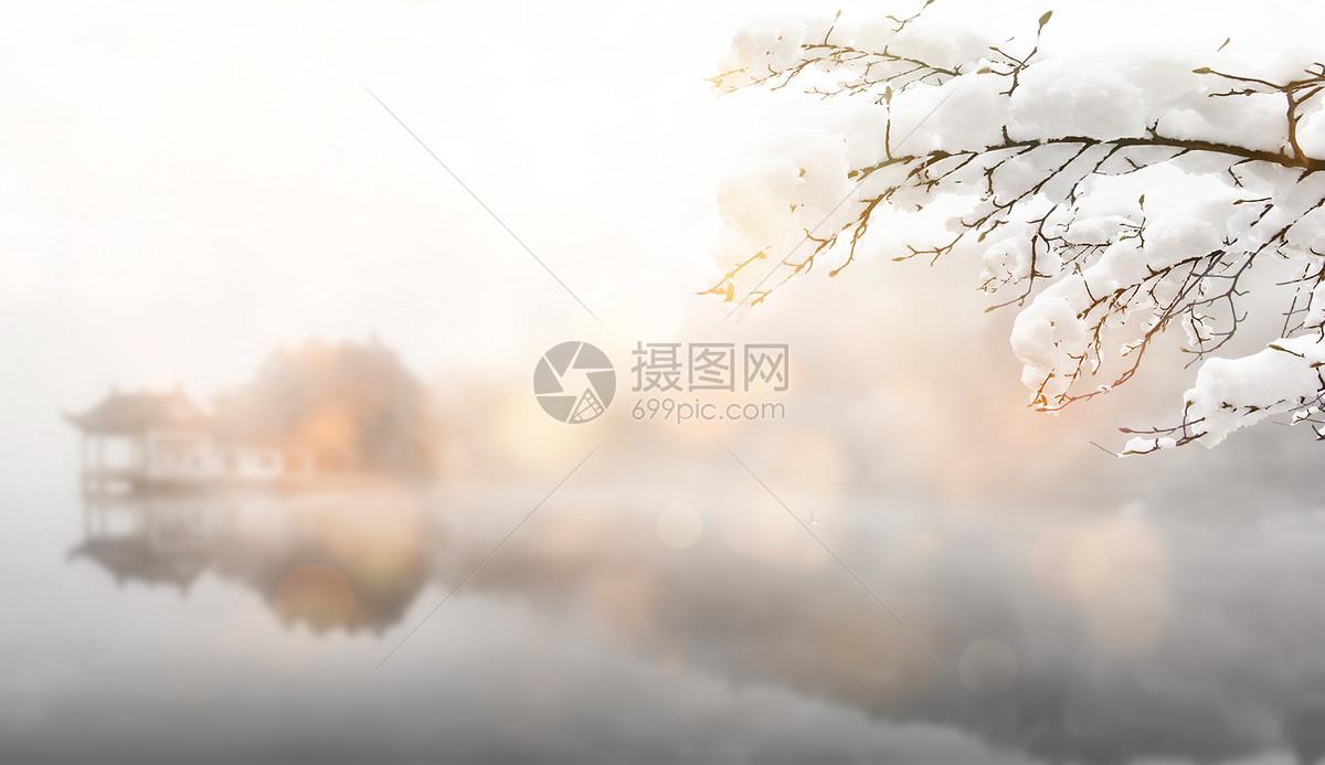 冬天风景图片