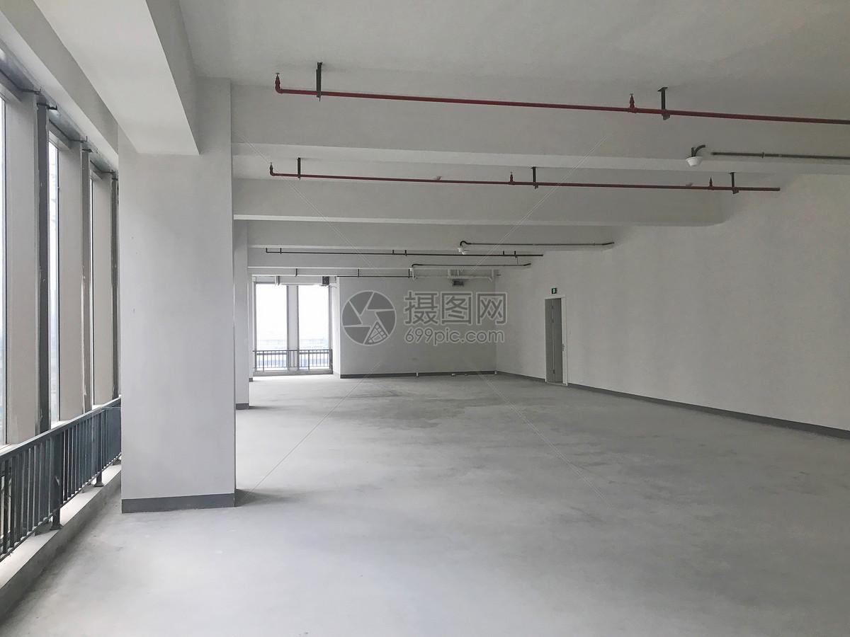 写字楼毛坯房办公室图片