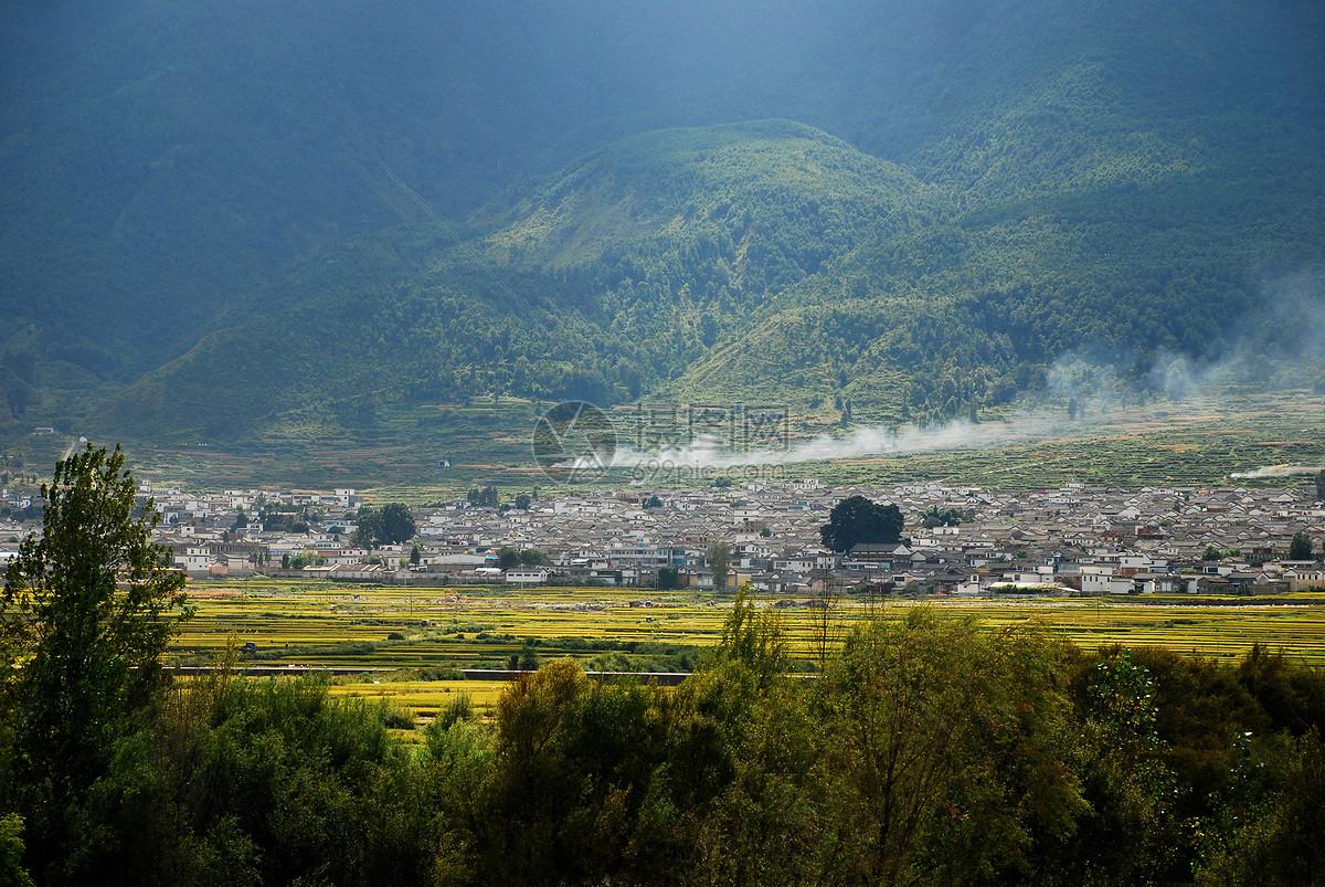 云南乡村风景图片