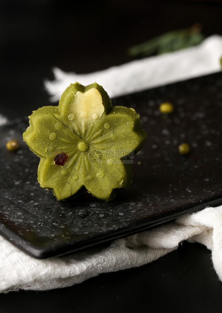 绿豆糕图片