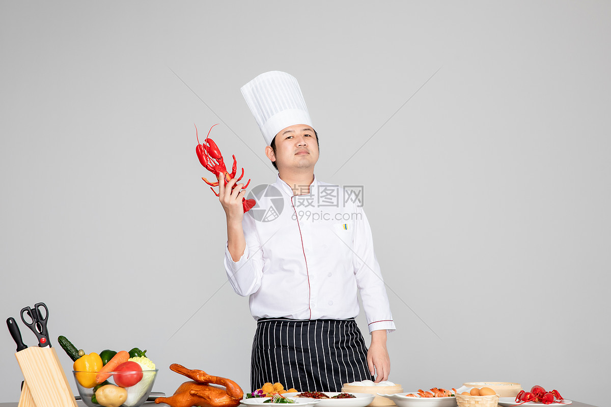 男厨师图片