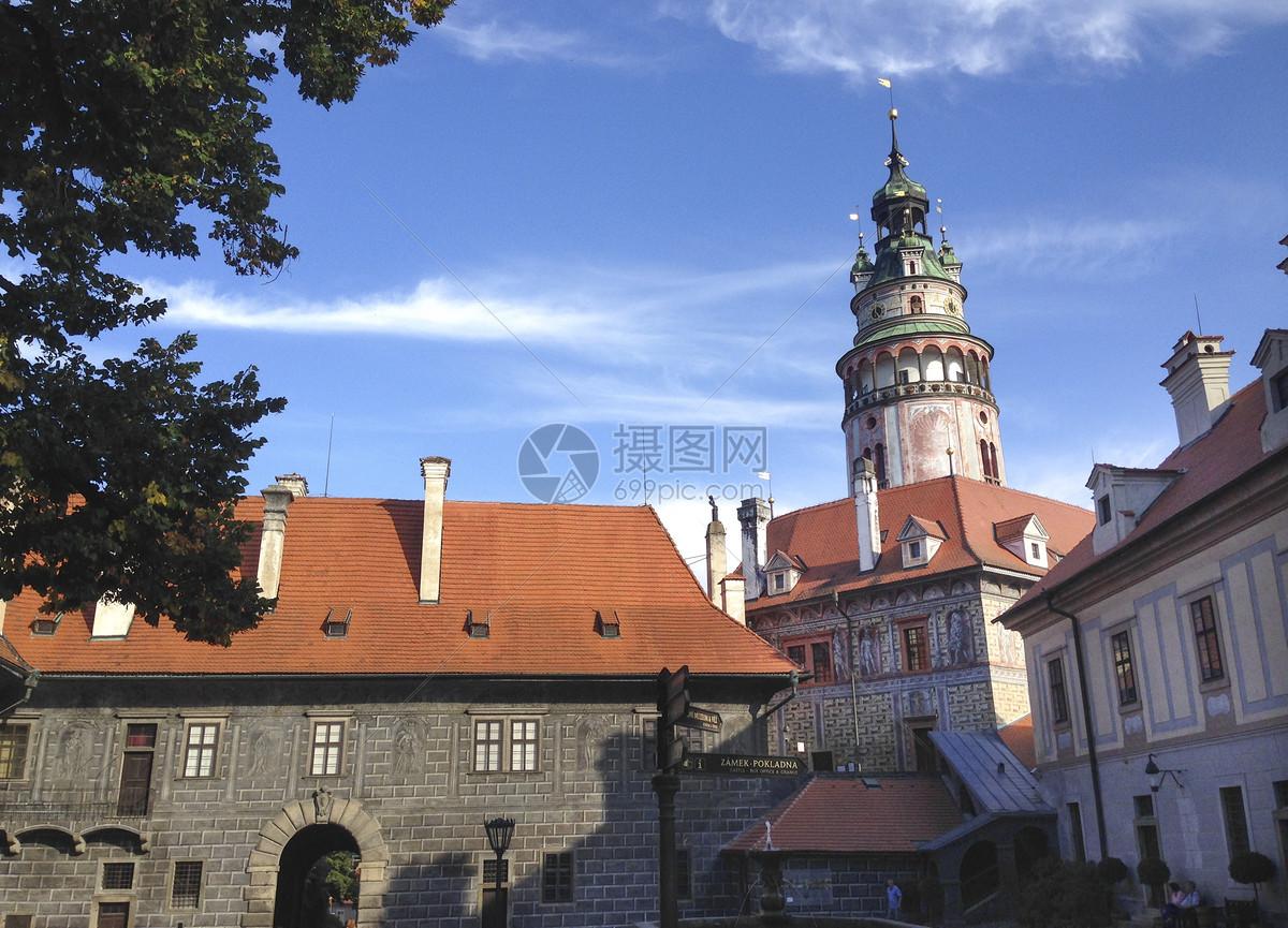 克鲁姆洛夫城堡图片