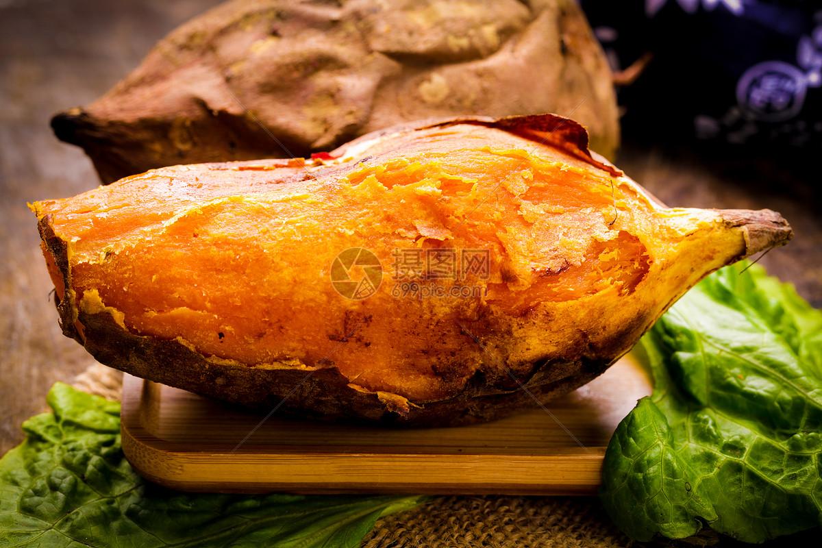 烤红薯图片