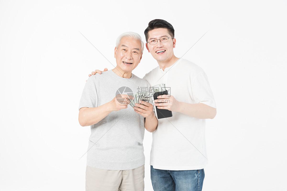 老年父子抚养费图片