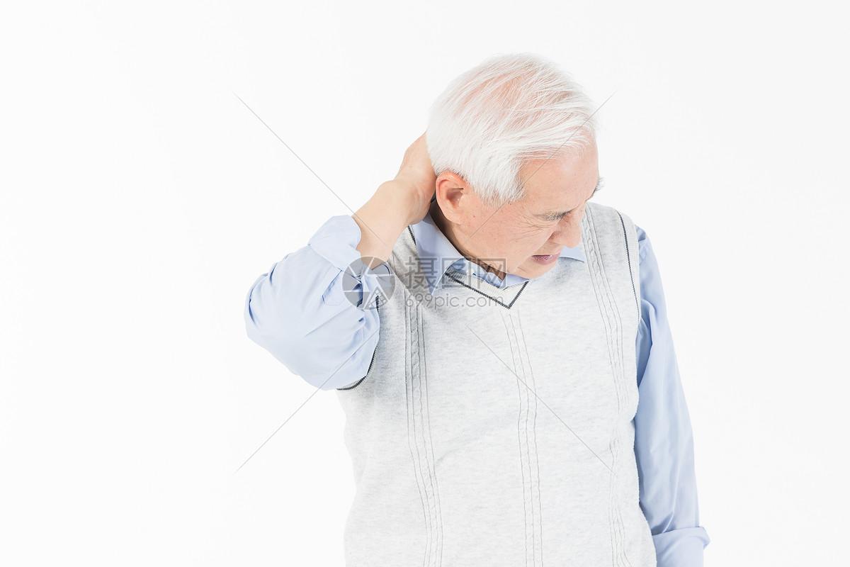 老年人脊椎酸痛图片