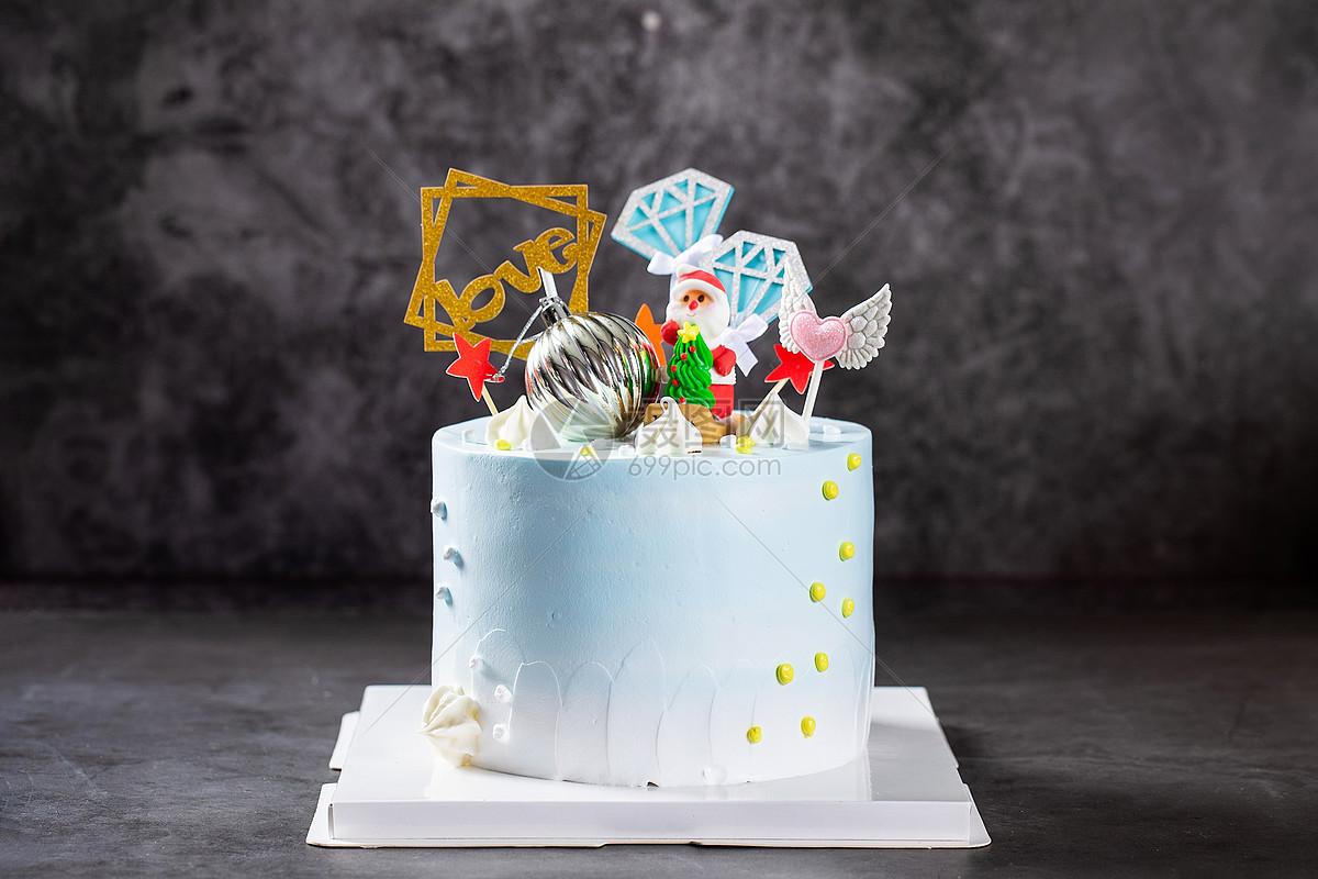 圣诞节蛋糕图片
