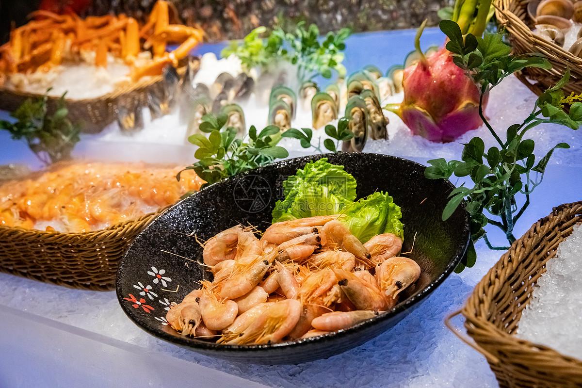 海鲜自助餐图片