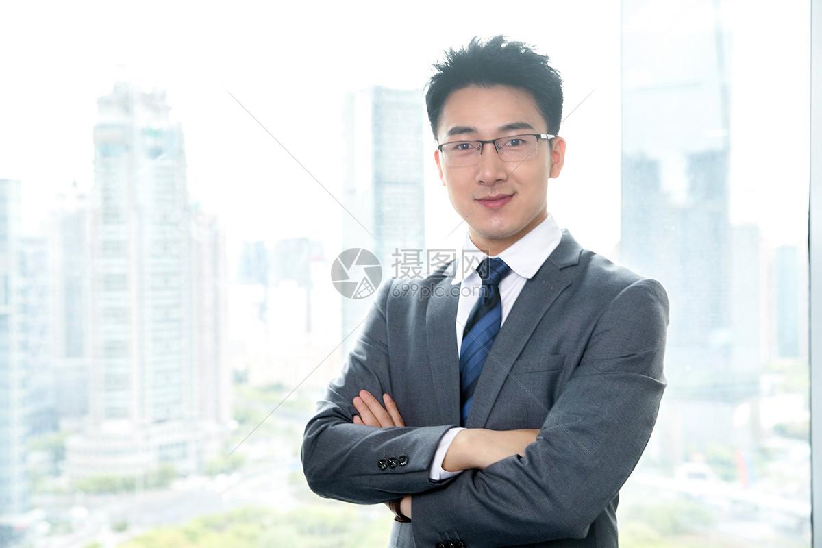 精英商务男性图片
