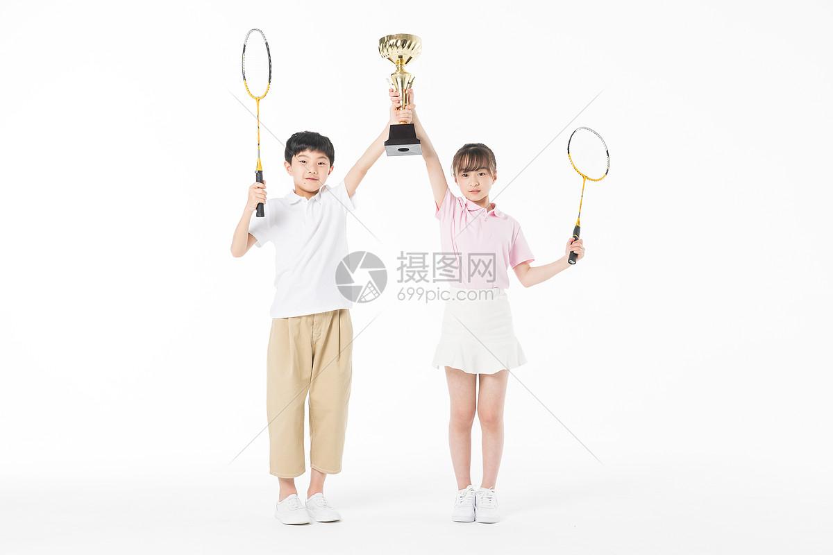 儿童羽毛球比赛获奖图片