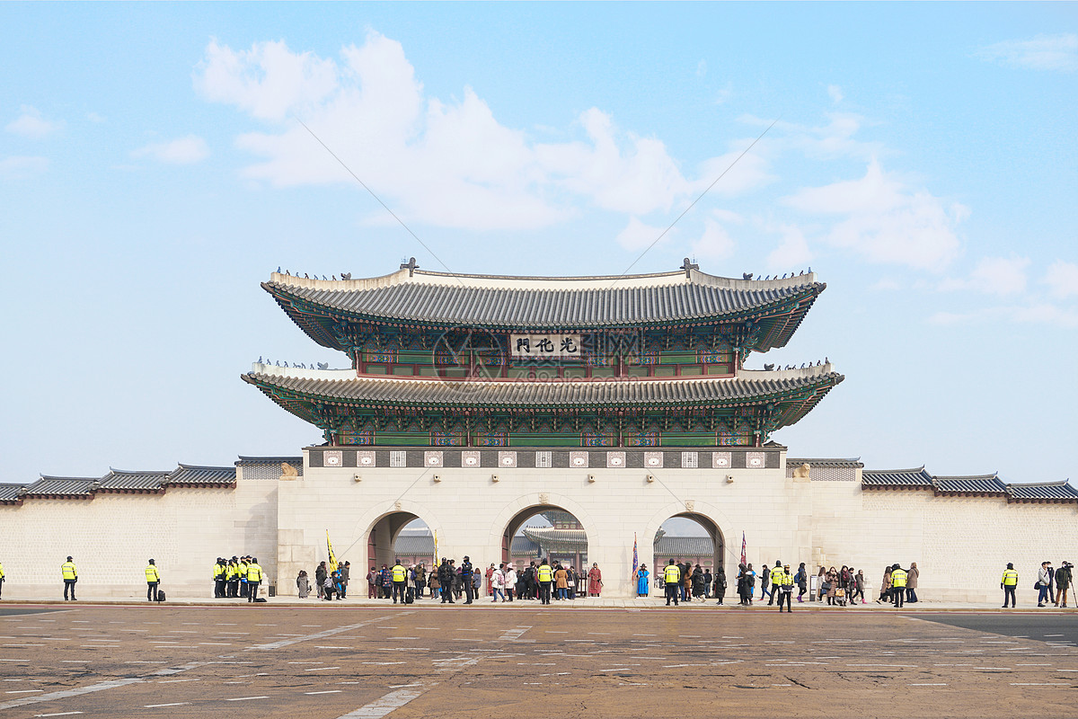 韩国首尔光化门图片