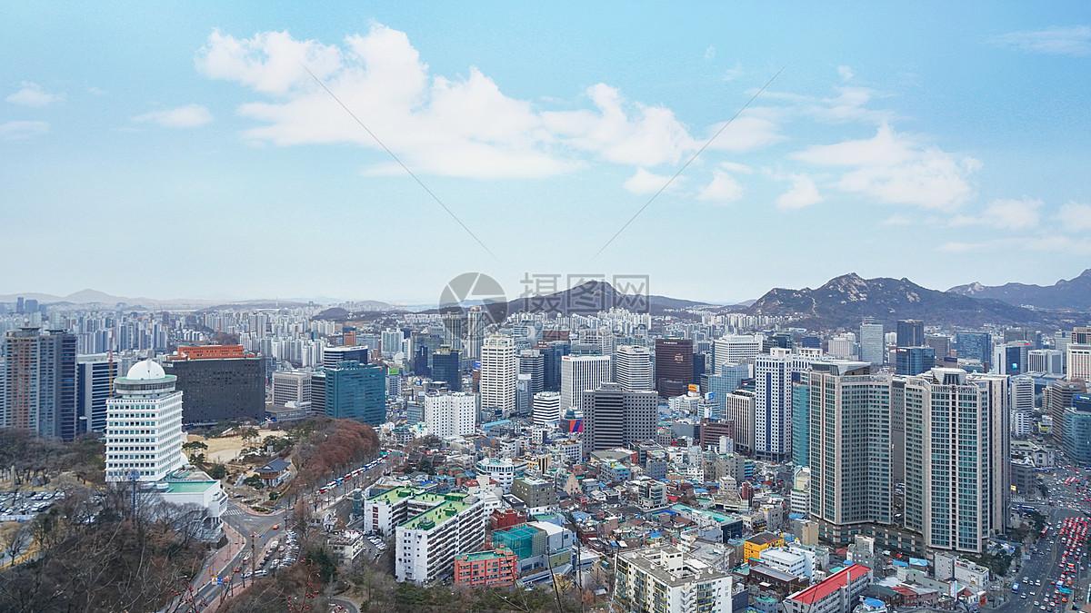 首尔城市风光图片