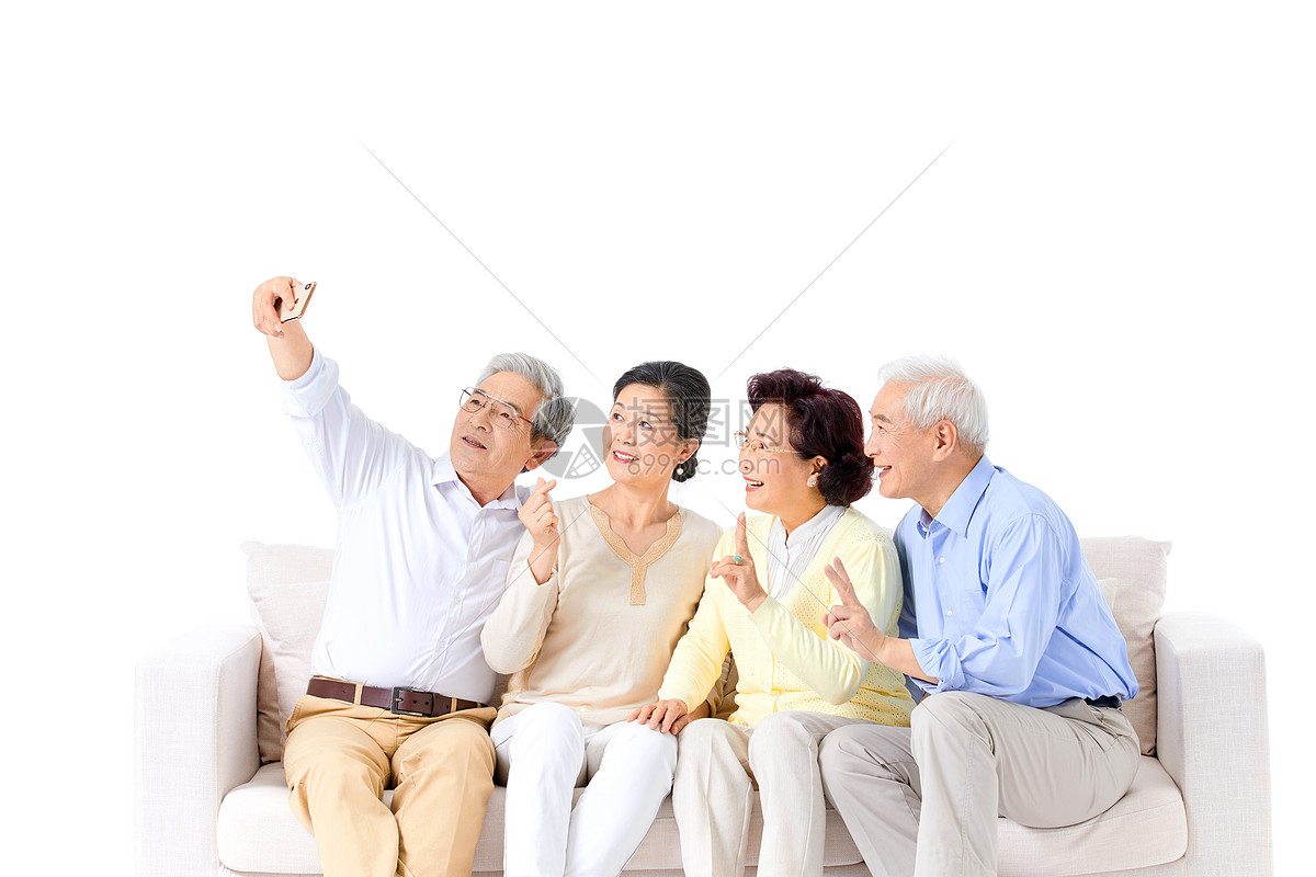老人自拍图片