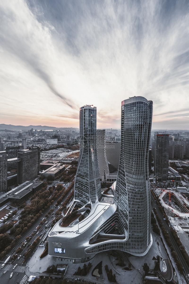 杭州CBD现代建筑图片