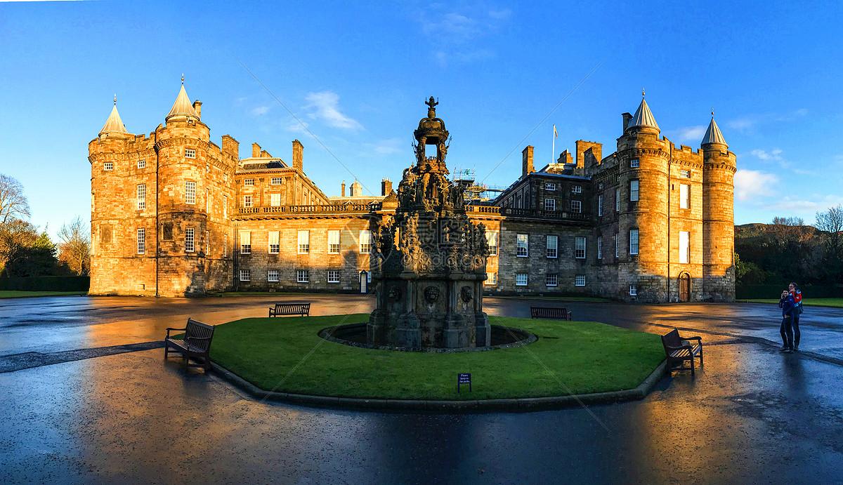 英国爱丁堡圣十字宫风光图片